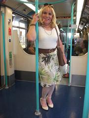 Getting Around (rachel cole 121) Tags: tv transvestite transgendered tgirl crossdresser cd genderfluid