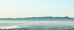 Winter mist on Oslo Fjord (Thor Edvardsen) Tags: winter mist fjord fog water sea seascape seaview oslo norway canon canon5dsr ef70200mmf28lisiiusm mountains horizon