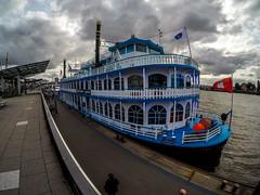 Louisiana Star (Tony Shertila) Tags: deu germany hamburg stpauli europe geo:lat=5354534240 geo:lon=996510102 geotagged â©2019tonysherratt ©2019tonysherratt 20190919115332 gopro louisianastar ferry boat ship paddleboat tourist