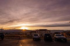 Sunset behind the Rockies (Jacko004) Tags: 2019 colorado coloradosprings eldredge homecoming nikond5200 november rh rockies retreat usa