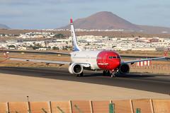 LN-BKE_02 (GH@BHD) Tags: lnbke boeing 737 73m 7m8 738 b737 b738 b73m b7m8 boeing737max8 max max8 737max dy nax d8 ibk norwegianairshuttle arrecifeairport lanzarote arrecife aircraft aviation airliner