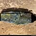 20170708_13 Glassy, green water beyond hole in concrete | Vis Island, Croatia