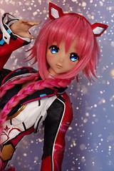 Yuri ♪ (Mei') Tags: dd dolfie dream ddh11 tan yuri matoi outfit robotic mmo sparkle shine doll vinyl anime manga kawai
