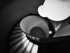 take the stairs (gro57074@bigpond.net.au) Tags: circularquay ampbuilding sydney november2019 guyclift f80 1424f28 nikkor d850 nikon monochromatic monotone monochrome mono bw blackwhite takethestairs ampstaircase amp stairs spiralstairs spiral staircase