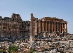 Baalbek: Temple of Bacchus