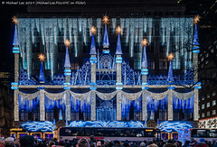 Saks Fifth Avenue (20191129-DSC01293) (Michael.Lee.Pics.NYC) Tags: newyork saksfifthavenue holiday christmas display facade rockefellercenter night illuminated architecture sony a7rm4 laowa12mmf28 magicshiftconverter