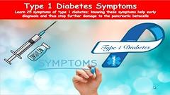 Type 1 diabetes symptoms; 25 Symptoms of T1D (thiruvelan) Tags: type 1 diabetes symptoms 25 t1d