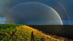 20191129-0955-43-Pano (Don Oppedijk) Tags: warder noordholland nederland ijsselmeer rainbow cffaa