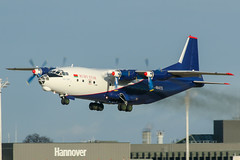 EW-484TI (PlanePixNase) Tags: aircraft airport planespotting haj eddv hannover langenhagen an12 antonov ruby star rubystar