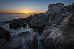 Livorno (szn_d) Tags: livorno sunset sunlight sea landscape italy canon castel boccale