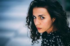 PORTRAIT MARGOT - ACTRICE (valentin.nauton) Tags: portrait portraiture book actress actrice comédienne femme black hair paris france french valentin nauton woman