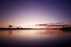 Sunrise in Kiel (kuestenkind) Tags: sunrise sonnenaufgang förde kiel kiellinie schleswigholstein norddeutschland northgermany canon 6d 30sec ostsee balticsea langzeitbelichung longexposure