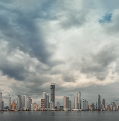 Balneário Camboriú (marcelo.guerra.fotos) Tags: beach arquitetura architecture brasil brazil beautiful clouds city detail design downtown edification flickr interestingness sea lake architect urban sky skyabove cloudy