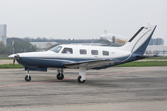 G-PTEA - 2002 build Piper PA-46-350P Malibu Mirage, taxiing for departure on Runway 06 at Friedrichshafen during Aero 2019 (egcc) Tags: 4636327 aero aerofriedrichshafen aerofriedrichshafen2019 bodensee buchberger dekcc edny fdh friedrichshafen gptea lightroom malibu malibumirage mirage n350pm n5349v oytpj pa46 pa46350p phrhb piper