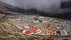 Népal - Dingboche Khumbu vallée (Sam Photos with Sony native jpeg) Tags: dingboche khumbu vallée népal nepal everest montagne himalaya trek randonnée altitude neige automne autumn camp campdebase