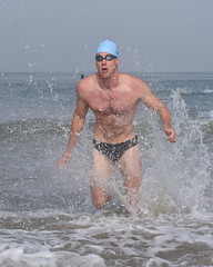 Explosive Male Swimmer (Chris Hunkeler) Tags: male athlete tyr splash splashing ocean swimmer swim