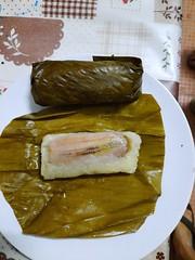 Khao Tom 1 (SierraSunrise) Tags: thailand phonphisai nongkhai isaan esarn food banana stickyrice bananaleaf khaotom