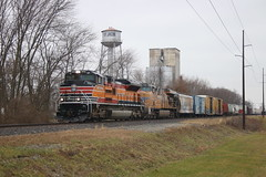Checking Another off the List (wras23) Tags: unionpacific up sd70ace 1996 southernpacificheritageunit sp csx stjacob illinois railroad train