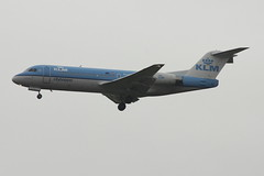 KLM Fokker F70 PH-KZO (Rob390029) Tags: klm fokker f70 phkzo newcastle airport ncl egnt