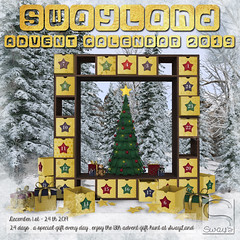 SwayLand Advent Calendar 2019 (Sway Dench / Sway's) Tags: sways swayland sl vr christmas xmas gifts present free hunt winter holiday giving