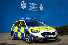 AG19 HCY (S11 AUN) Tags: cleveland police ford focus active estate demo demonstrator state dog section policedogs dsu dogsupportunit incident response 999 emergency vehicle ag19hcy