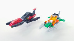 Building with Brian: Vic Vipers (-soccerkid6) Tags: lego moc brother brian space scifi vicviper creation build