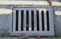 Drain Cover (St. Pancras Engineering Works, Chichester) (Ray's Photo Collection) Tags: westsussex cover drain chichester midhurst stpancras engineeringworks streetfurniture