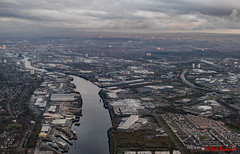River Clyde & Glasgow (0004) (red.richard) Tags: river clyde glasgow scotland ariel nikon d3300