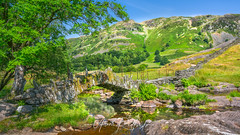 Summer Day At Slaters Bridge (Aron Radford Photography) Tags: slaters bridge little langdale lakes lake district cumbria uk landscape summer day river water stream countryside
