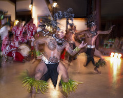 In the frenzy of dance - Smile on Saturday (Nobusuma) Tags: nikon nikond610 nikkor50mmf18g 50mm f18g digital smileonsaturday motionblur dance frenchpolynesia mooreamaiano longexposure ニコン 踊り ポリネシア モオレア 長露出