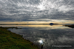 Lake Myvatn - Iceland (My Planet Experience) Tags: lake myvatn mývatn sunset reflection water cloud sky volcano landscape nature people day color horizontal island iceland is myplanetexperience wwwmyplanetexperiencecom