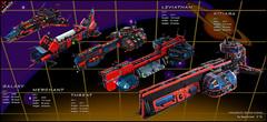 Spyrius flagships (spaceruner) Tags: lego moc space ship spaceship spyrius 90s kitiara spaceruner