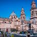 2019 - Mexico - Morelia - 17 - Cathedral from Plaza Melchor Ocampo