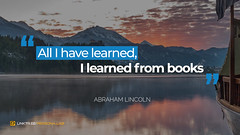 Quote by Abraham Lincoln (persona.lab) Tags: quotes education thoughts emotions personality abrahamlincoln