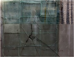 PUZZLED IN THE MIRROR (nouredine) Tags: window cracked divided patterned hidden puzzeled mirror nouredine nheyers