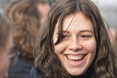 Brussels-Youth For Climate-29 nov 2019 - 01 (foto_morgana) Tags: belgium activism belgique belgië adolescent brussels brussel bruxelles brusselshoofdstedelijkgewest face fille girl glimlach head headshot people portrait portret portraiture youthforclimate freckles freckledskin freckledface climateactivists globalclimatestrike