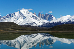 Parque Nacional Torres del Paine (geometricsprocket) Tags: parquenacionaltorresdelpaine parque nacional sony sonyilce6500 reflections laguna lake mountains chile magallanes patagonia