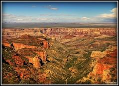 Grand Canyon (pandt) Tags: grand canyon north rim landscape outdoor arizona grandcanyon nationalpark sky clouds blue flickr beautiful canon eos slr rebel t1i