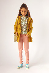 Sunshine and flowers for Winter (*SquishTish*) Tags: clothes fashion doll style outfit miniature squishtish barbie madetomove teresa mirmaiddolls repaint repainted