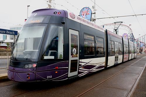 Blackpool Transport Trams: 010 Pleasure Beach