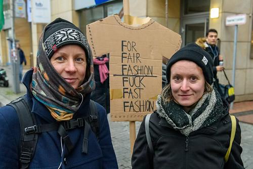 for fair fashion | fuck fast fashion