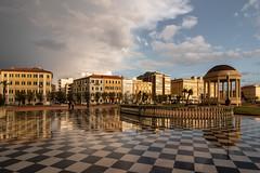 Livorno (Cath Dominguez) Tags: terrazzamascagni riflessi pioggia rain reflex