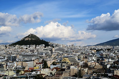 Cityscape of Athens... (Κώστας Καϊσίδης) Tags: athens athina lycabettushill lykavittos city cityscape clouds sky skyscape cloudography architecture town capital largestcityofgreece greece hellas attica attiki buildings cityarea urbancenter kostaskaisidis canon ngc