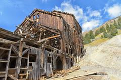 Frisco-Bagley Mill (Jim Johnston (OKC)) Tags: friscobagleymill animasforksghosttown californiagulch mine clouds evergreens sanjuanmountains colorado