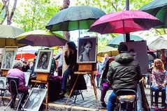 Montmartre et ses peintres (1) (didier95) Tags: montmartre paris placedutertre peintre scenedevie tableau peinture personnage