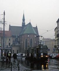 Fransiscan Church, Krakow (Niall Corbet) Tags: poland krakow fransiscan church