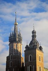 Mariacki Church, Krakow (Niall Corbet) Tags: poland krakow mariacki church