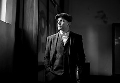 'Peaky Blinders' (AndrewPaul_@Oxford) Tags: peaky blinders 1920s 1930s papplewick pumping station natural light environmental portrait timeline events