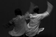 Two Dancers (arbyreed) Tags: arbyreed smileonsaturday motionblur dance dancers movingdancers monochrome bw blackandwhite