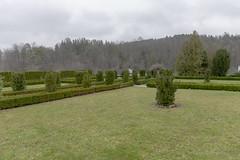 Stift Zwettl 3/4 (verblickt) Tags: austria waldviertel monestry garden